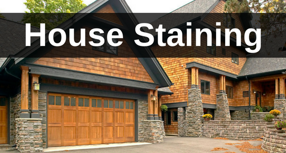 House Staining Services by CC's Painting