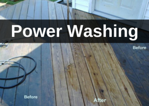 Pressure Washing, Power Washing by CC's Painting