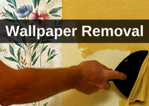 Wallpaper removal services - CC's Painting Services