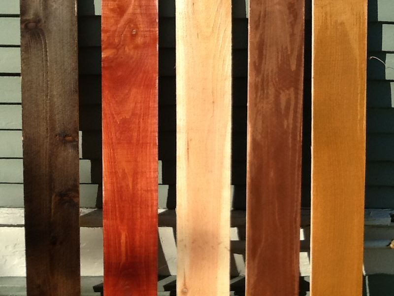 Stained Cedar Fence Cc S Painting