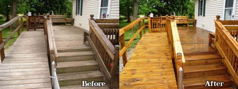 professional painters and deck staining serving lake country and
