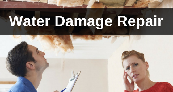 water damage repair WI - CC's Painting Services