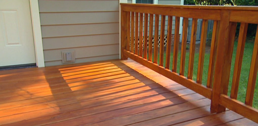 Extrem Deck Staining: Stain or Replace My Deck? Warping,Chipping,Splitting WR14
