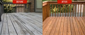 deck staining sealing cleaning services in Wisconsin southeast