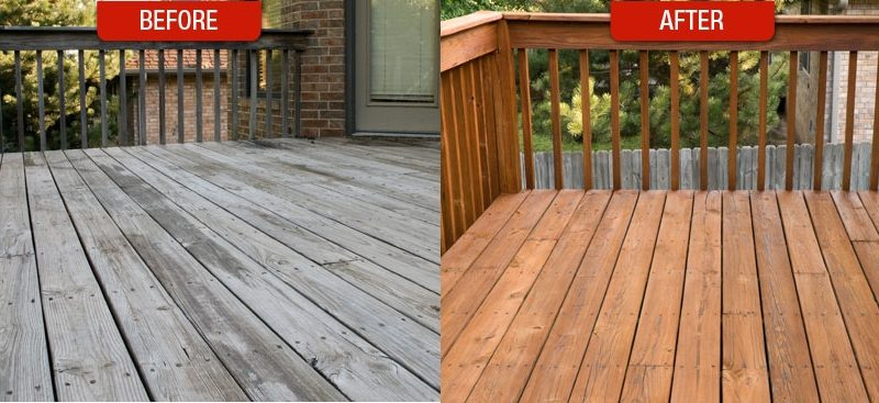 When Your Deck Goes From Fab To Old And Drab It S Time Start Thinking About Refinishing The But Important Know Signs Between Minor